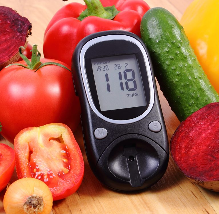 miernik dla cukrzyka wśród warzyw