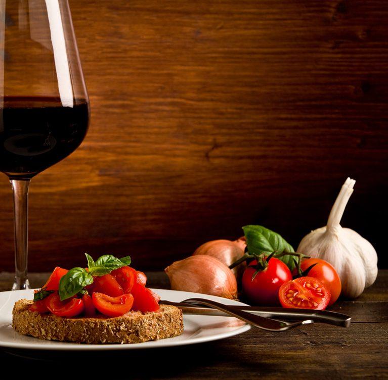 wino oraz czosnek dla twojego zdrowia